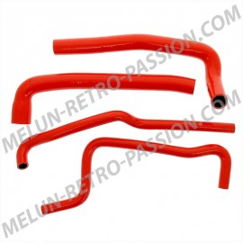 durites silicone rouges renault 4 moteurs...