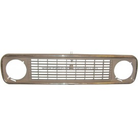 GREY GRILL FRONT HOOD THIRD MODEL RENAULT 4