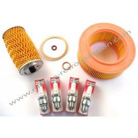 SPRING KIT  OIL FILTER  AIR FILTER  4 CANDLES...