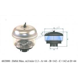 filtre a air cyclone diametre 45mm.