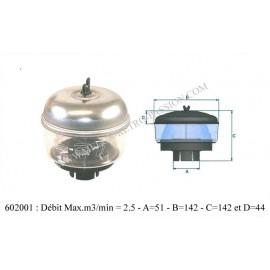filtre a air cyclone diametre 50mm.