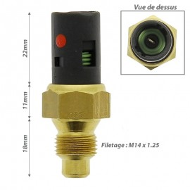 MANO CONTACT TEMPERATURE EAU RENAULT R19 R21...