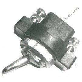 CHROMED ROCKER SWITCH 2 POSITIONS (screw)