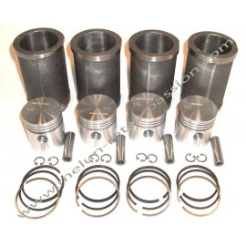 chemises pistons segments diam 58mm embase...