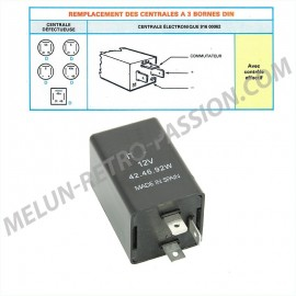 ADAPTABLE FLASHER UNIT 12V