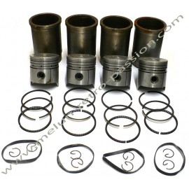 SET OF BARREL AND PISTON DIAM 75mm  PEUGEOT...