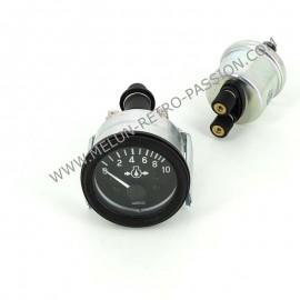 manometre de pression d'huile moteur -...