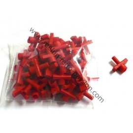 PLASTIC BODYSIDE TRIM CLIPS 5MM BY 50