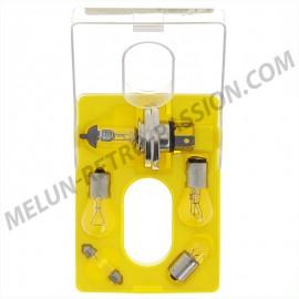 coffret d'ampoules rallye 12v  avec h5 100/80w
