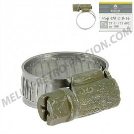 collier pour durite diametre de serrage 8 à 16mm