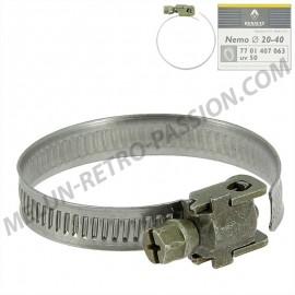 collier pour durite diametre de serrage 20 à...