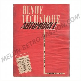 TECHNICAL REVIEW  ETUDE SIMCA VEDETTE