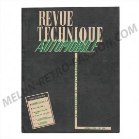revue technique automobile saurer chassis 5 d...