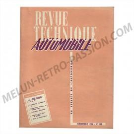 revue technique automobile panhard dyna 56 et 57
