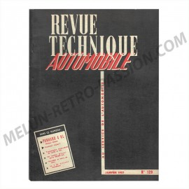 REVUE TECHNIQUE AUTOMOBILE PANHARD 4 HL Diesel