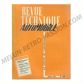TECHNICAL REVIEW  SIMCA VEDETTE FROM 1956 TO...