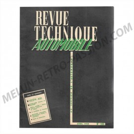 revue technique automobile vespa 400