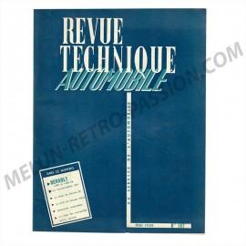 revue technique automobile renault 1000 et...