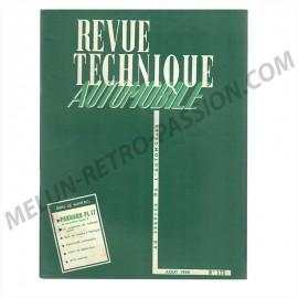 revue technique automobile panhard pl 17 et...