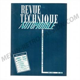 REVUE TECHNIQUE AUTOMOBILE RENAULT ONDINE,...