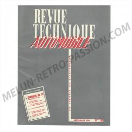 revue technique automobile citroËn ds 19...