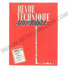 REVUE TECHNIQUE AUTOMOBILE RENAULT 4CV -...