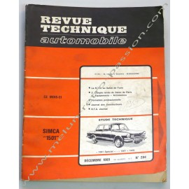 TECHNICAL REVIEW  SIMCA 1501  SIMCA 1000  OPEL