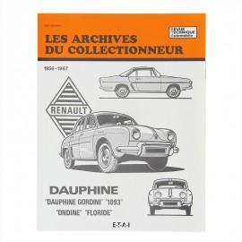 rta renault dauphine et derivees de 1956 a 1967