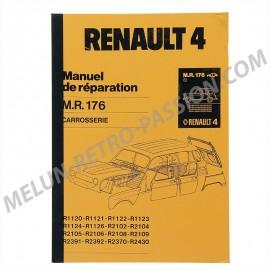 mr176 - manuel de reparation carrossserie...