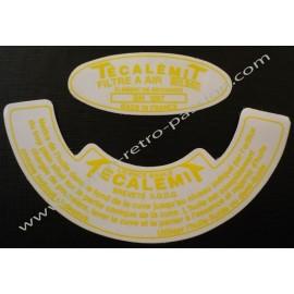 AUTOCOLLANT TECALEMIT RENAULT 4CV DAUPHINE...