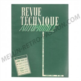 "revue technique automobile simca ariane ""4"""