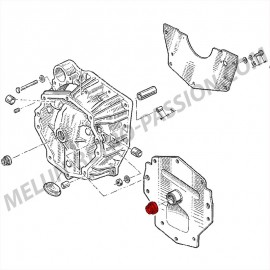 SPI GASKET INPUT GEARBOX types 354, HA0...