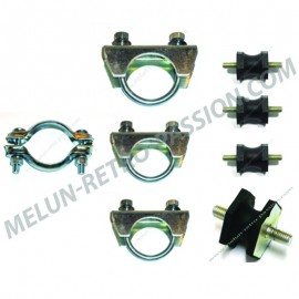 kit de fixations d'echappement renault r4 -...