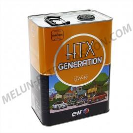 huile moteur elf htx generation 15w40 - 5 litres