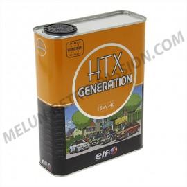 huile moteur elf htx generation 15w40 - 2 litres