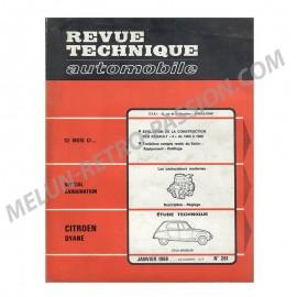 revue technique automobile citroen dyane &...