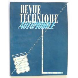REVUE TECHNIQUE AUTOMOBILE DKW 3 cyl.