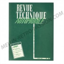 REVUE TECHNIQUE AUTOMOBILE TRIUMPH TR 2 - TR 3