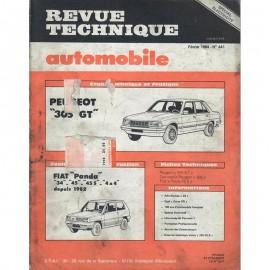 REVUE TECHNIQUE AUTOMOBILE PEUGEPOT 305 GT -...
