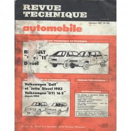 REVUE TECHNIQUE AUTOMOBILE RENAULT R9 et R11...