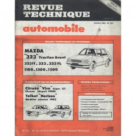 REVUE TECHNIQUE AUTOMOBILE MAZDA 323 -...