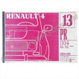 pr1104 - 12/1994 catalogue pieces de rechange...