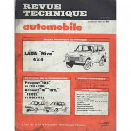 REVUE TECHNIQUE AUTOMOBILE LADA NIVA -...
