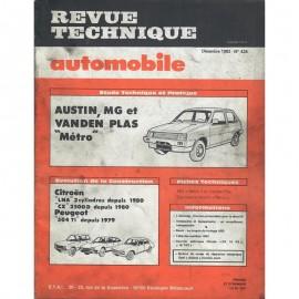 REVUE TECHNIQUE AUTOMOBILE AUSTIN - CITROEN -...