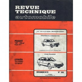 REVUE TECHNIQUE AUTOMOBILE CITROEN CX et...