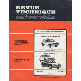 REVUE TECHNIQUE AUTOMOBILE CITROEN GS 1130 et...