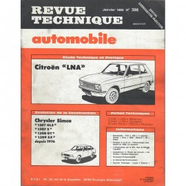 REVUE TECHNIQUE AUTOMOBILE CITROEN LNA et...