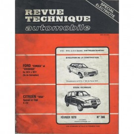 REVUE TECHNIQUE AUTOMOBILE CITROEN VISA -...