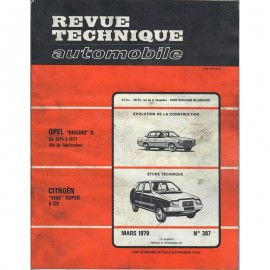 REVUE TECHNIQUE AUTOMOBILE CITROEN VISA SUPER...