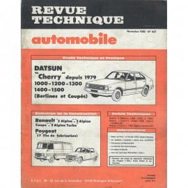 REVUE TECHNIQUE AUTOMOBILE DATSUN CHERRY -...
